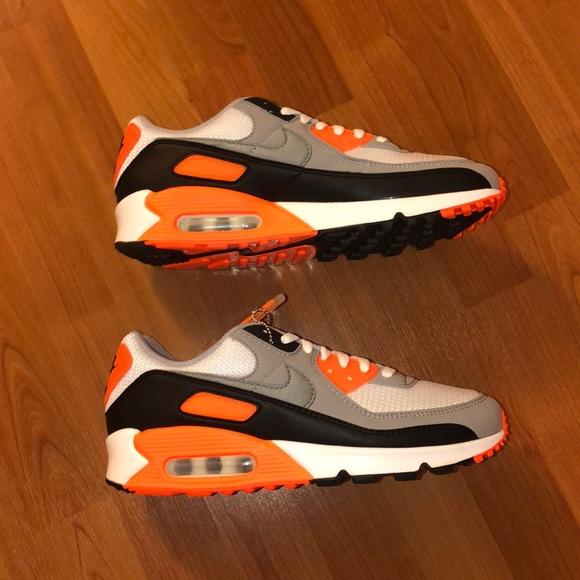 "Nike Air Max 90 ""Total Orange"" Size 10 Men"